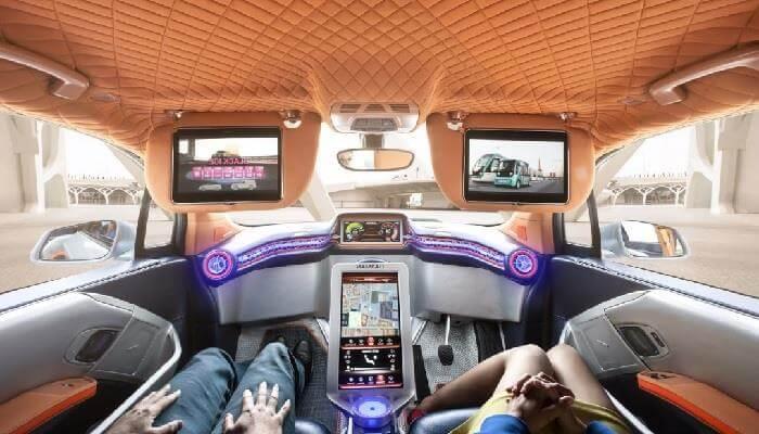 Будущее наступает: в РФ 35 авто без водителей